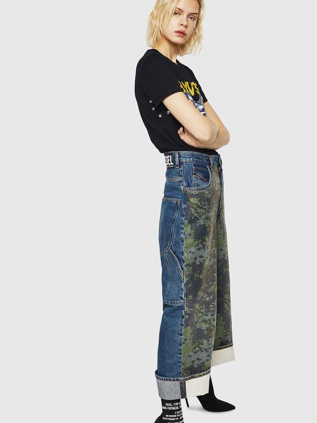 Diesel - D-Luite 0078E, Medium blue - Jeans - Image 5