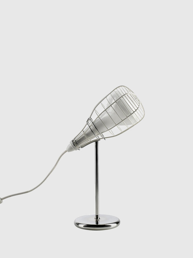 Living CAGE MIC BIANCO, White - Table Lighting - Image 1