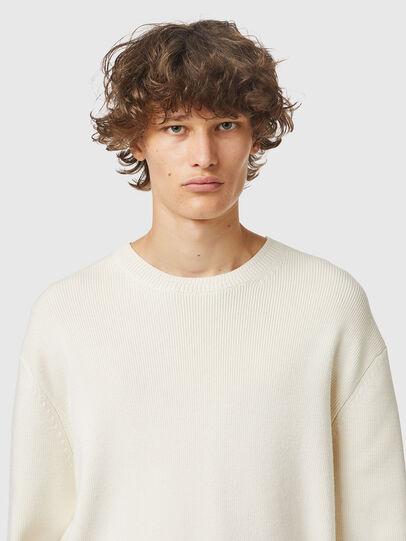 Diesel - K-ATHENS, White - Knitwear - Image 3