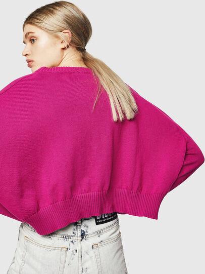Diesel - M-LINDA, Pink Fluo - Knitwear - Image 5