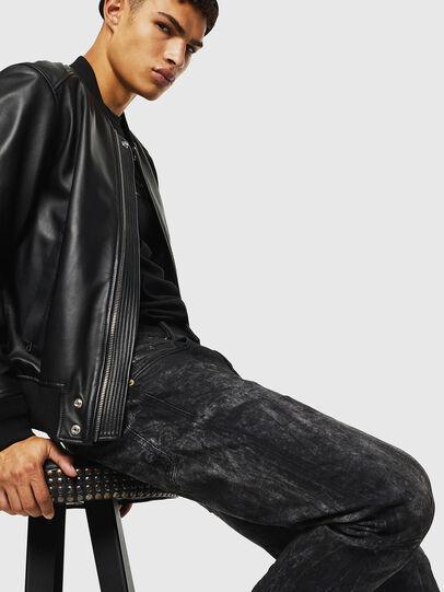 Diesel - D-Strukt 069KE, Black/Dark grey - Jeans - Image 4