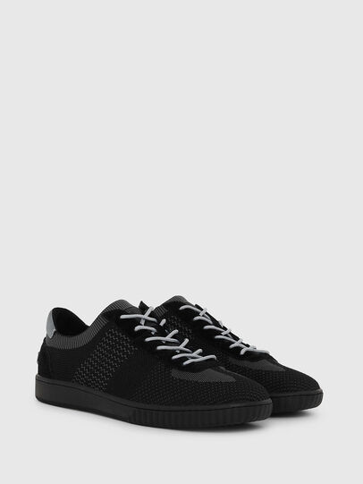 Diesel - S-MILLENIUM LOW, Black/Grey - Sneakers - Image 2