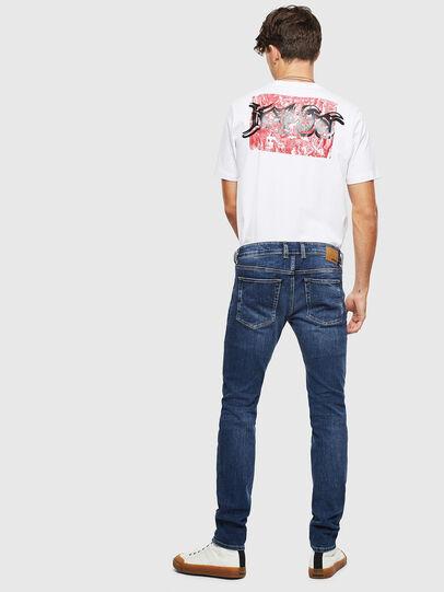 Diesel - Sleenker 0095F, Dark Blue - Jeans - Image 5