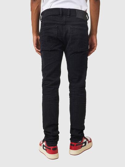 Diesel - Sleenker 09A75, Black/Dark grey - Jeans - Image 2