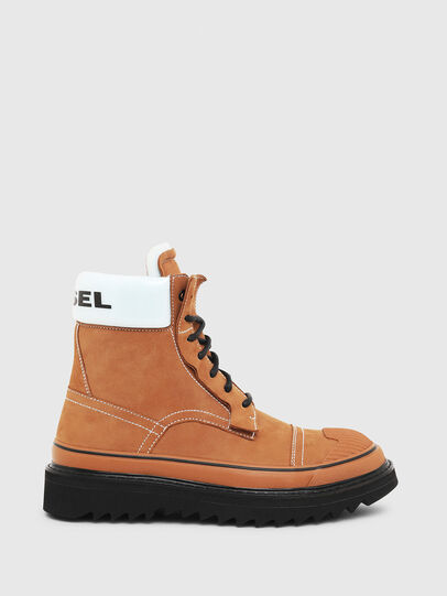 Diesel - H-SHIROKI DBBT, Light Brown - Boots - Image 1