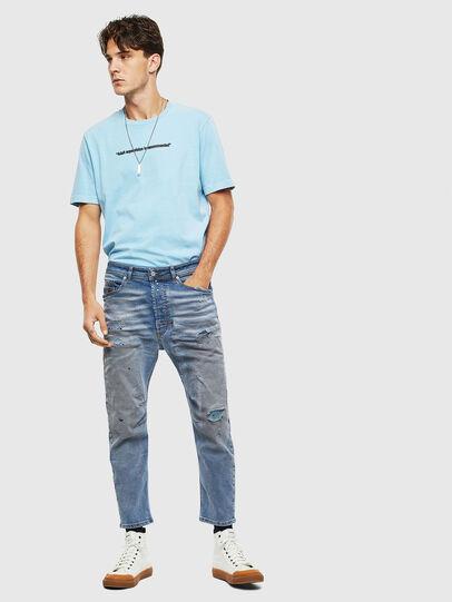Diesel - Narrot 009BN, Medium blue - Jeans - Image 8
