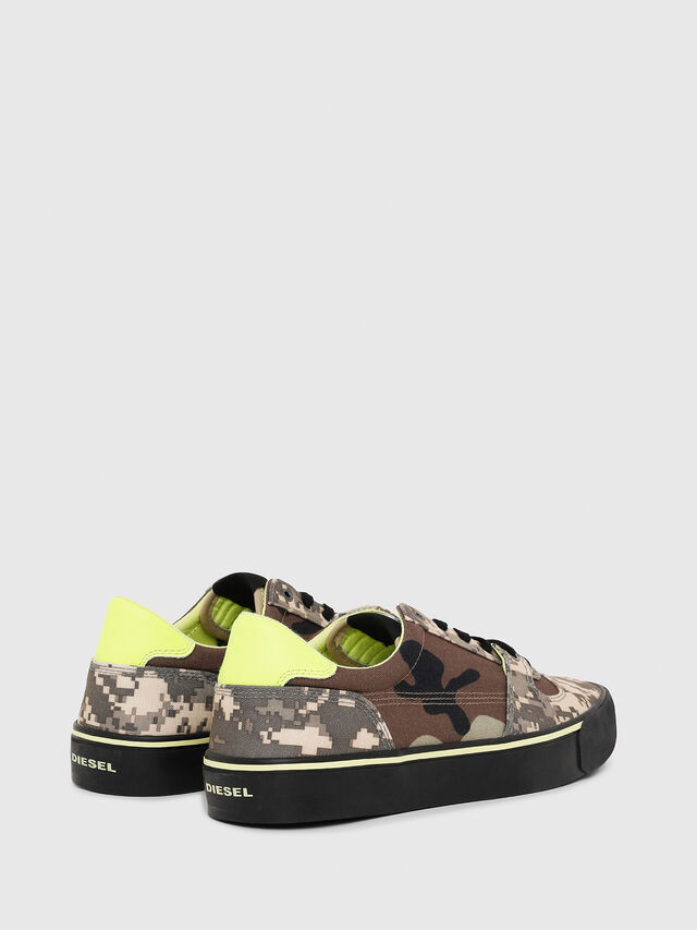 Diesel - S-FLIP LOW, Marron Military - Sneakers - Image 3