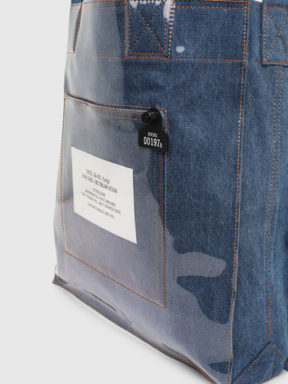 Diesel - F-THISBAG SHOWEI, Blue Jeans - Shopping and Shoulder Bags - Image 3
