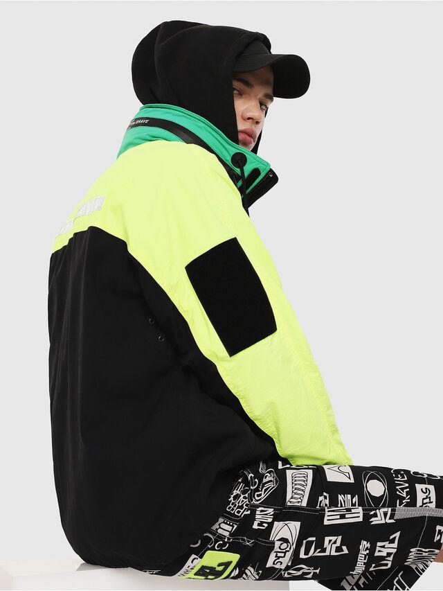 Diesel - J-FUTOSHI, Black/Yellow - Jackets - Image 4