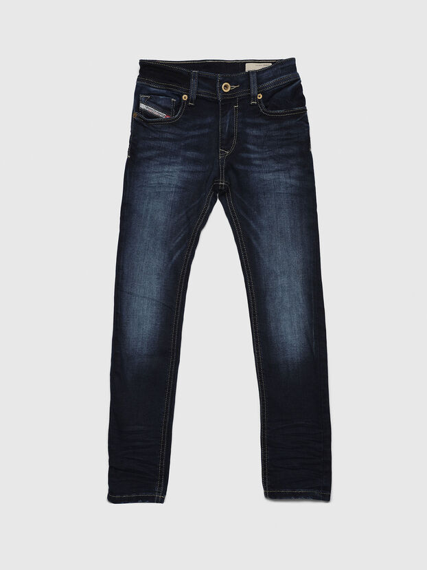 SLEENKER-J-N, Dark Blue - Jeans