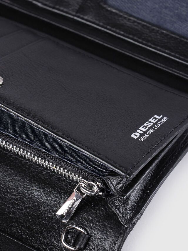 Diesel - GIPSI, Black - Small Wallets - Image 4
