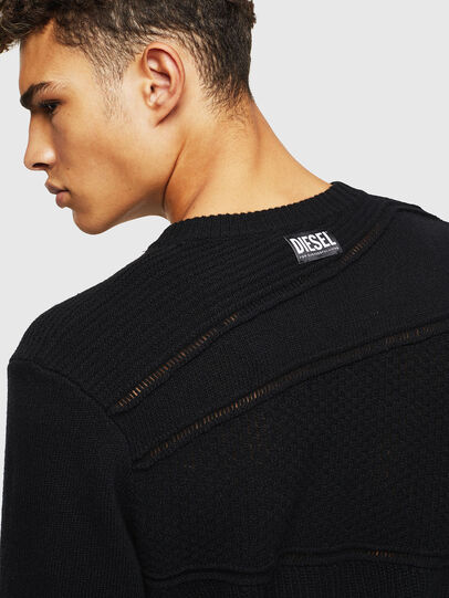 Diesel - K-PATHY, Black - Knitwear - Image 4