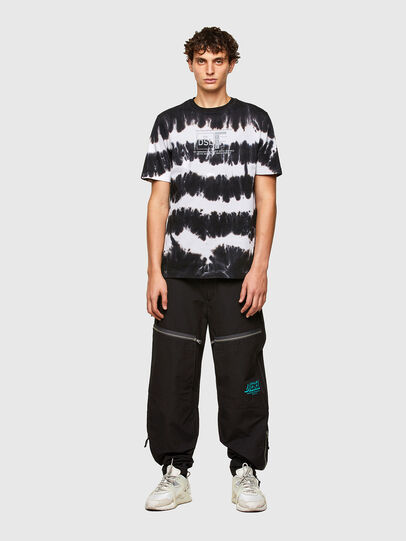Diesel - T-JUST-A38, Black/White - T-Shirts - Image 4