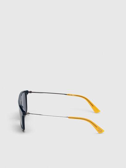 Diesel - DL0297, Blue/Yellow - Sunglasses - Image 3