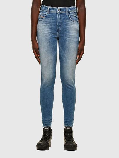 Diesel - Slandy High 009JI, Light Blue - Jeans - Image 1