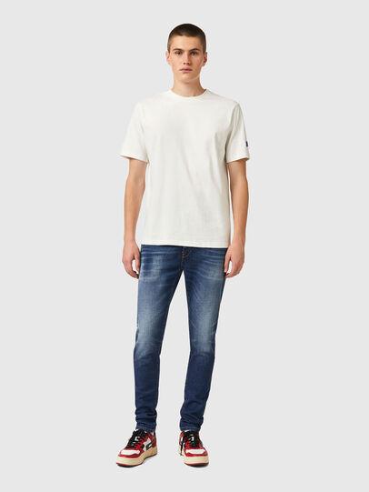 Diesel - T-JUST-B67, White - T-Shirts - Image 4