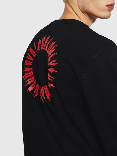 Diesel - S-GIR-A3, Black - Sweaters - Image 3