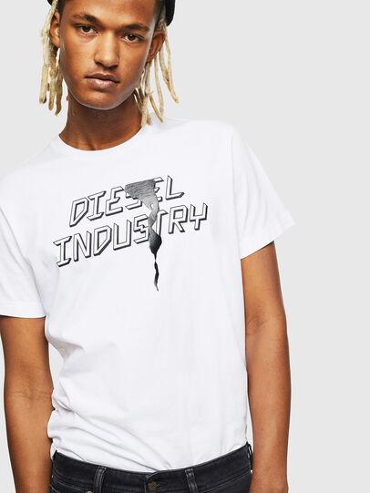 Diesel - T-DIEGO-J25, White - T-Shirts - Image 4