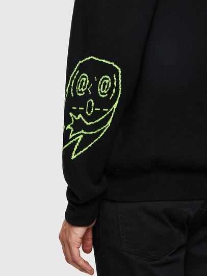 Diesel - K-ONTARIO, Black - Knitwear - Image 4