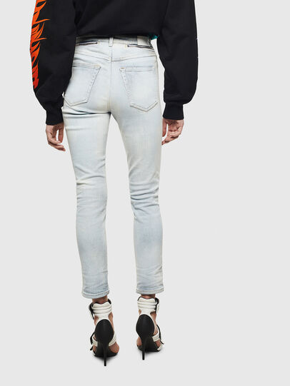 Diesel - Babhila High 009AX, Light Blue - Jeans - Image 2