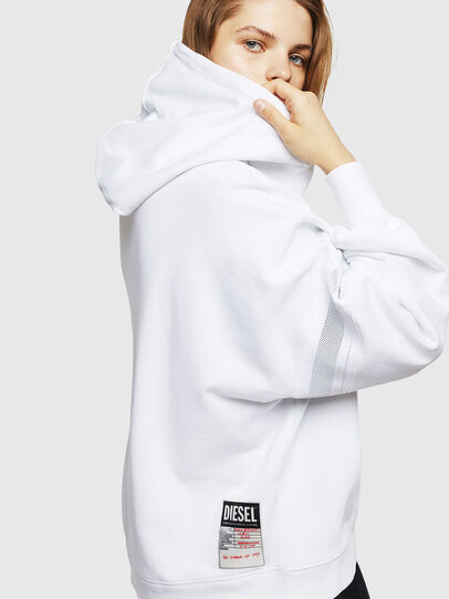 Diesel - F-AVAL, White - Sweaters - Image 3