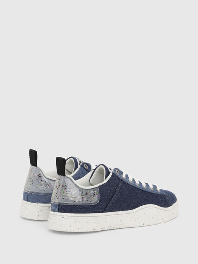 Diesel - S-CLEVER LOW LACE W, Blue - Sneakers - Image 3