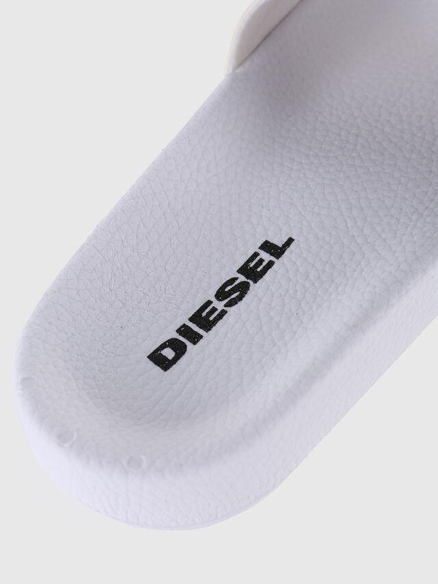 Diesel - SA-MARAL, White - Slippers - Image 3