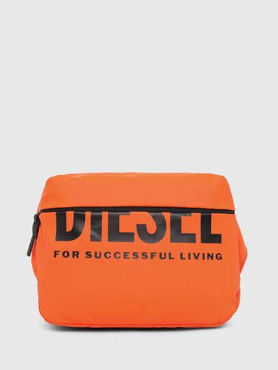 Diesel - F-BOLD CROSS, Orange - Crossbody Bags - Image 1