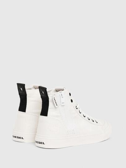 Diesel - S-ASTICO MID ZIP W, White - Sneakers - Image 3