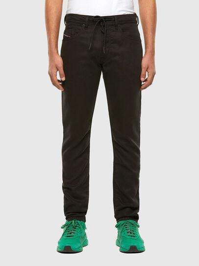 Diesel - Thommer JoggJeans 069NC, Black/Dark grey - Jeans - Image 1