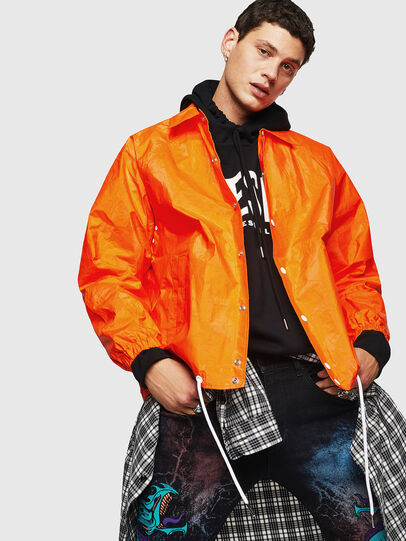 Diesel - J-AKINATOR-TVK, Orange - Jackets - Image 1