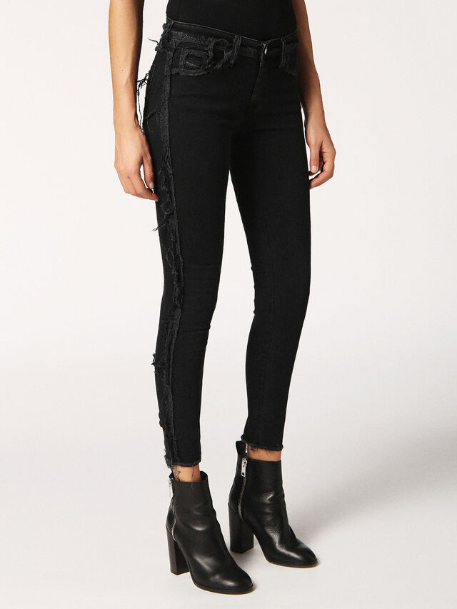 SLANDY-SP 0688G, Black Jeans