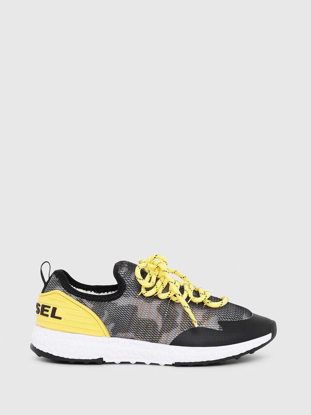 Diesel - SN LOW 10 S-K CH, Gray/Black - Footwear - Image 1