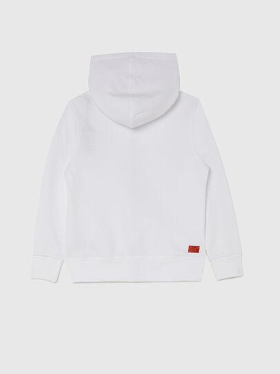 Diesel - UMLT-SBRANDONZ, White - Sweaters - Image 2