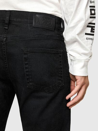 Diesel - D-Strukt 0091I, Black/Dark grey - Jeans - Image 4