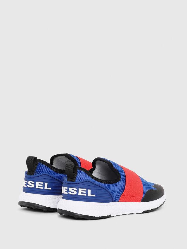 Diesel - SN SLIP ON 16 ELASTI, Blue/Red - Footwear - Image 2