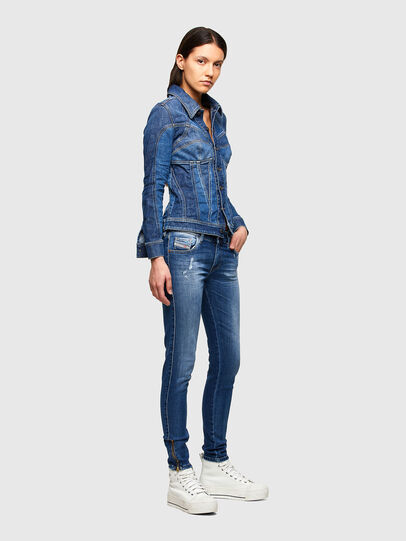 Diesel - Slandy Low 009PU, Medium blue - Jeans - Image 6