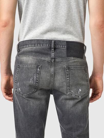 Diesel - D-Strukt 09B19, Black/Dark grey - Jeans - Image 4
