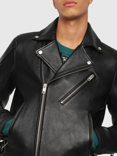 Diesel - L-KRAMPIS,  - Leather jackets - Image 3