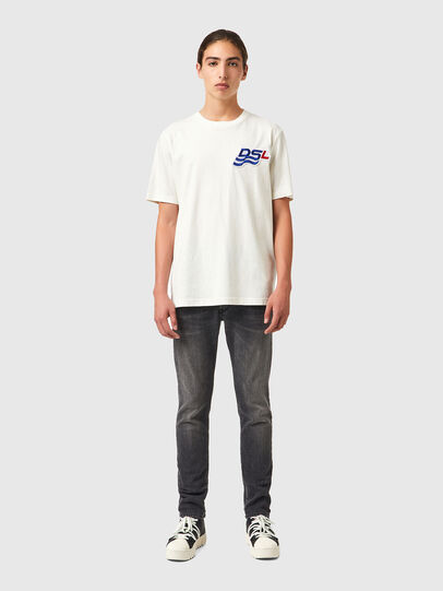 Diesel - T-JUST-B83, White - T-Shirts - Image 4