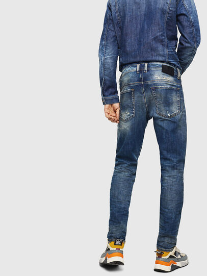 Diesel - Thommer JoggJeans 0870Q, Medium blue - Jeans - Image 2
