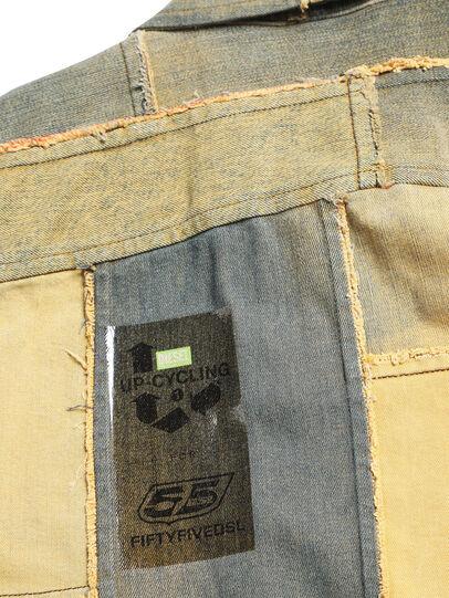 Diesel - D-COACINQUE5, Yellow - Denim Jackets - Image 5