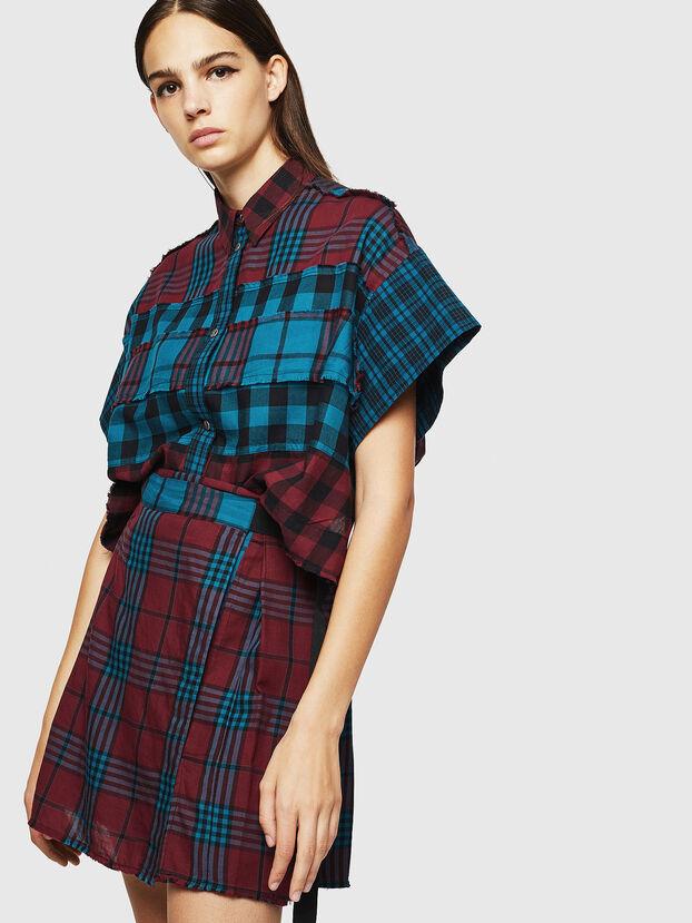 D-RAISA, Red/Blue - Dresses