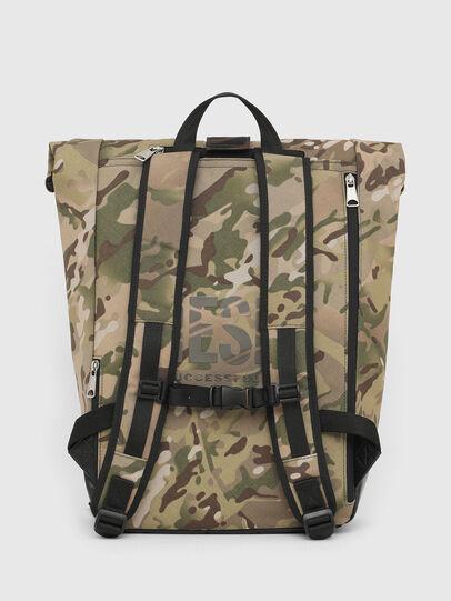 Diesel - ROLAP, Green Camouflage - Backpacks - Image 2