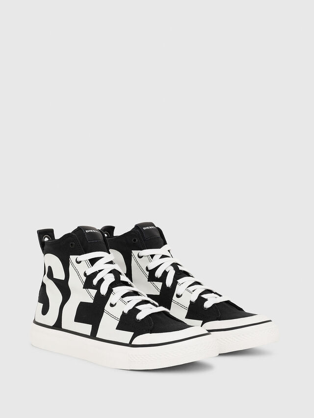 Diesel - S-ASTICO MC, Black/White - Sneakers - Image 2