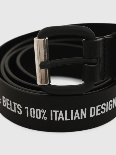 Diesel - B-CRESPINO, Black - Belts - Image 2
