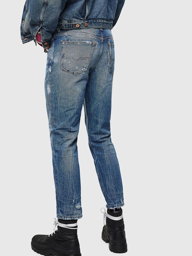 Diesel - Mharky 0078B, Dark Blue - Jeans - Image 2