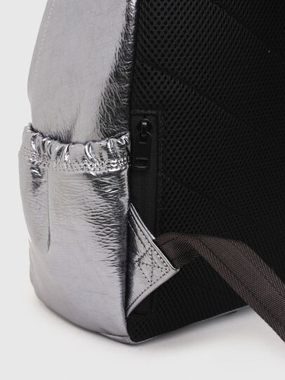 Diesel - F-BOLD BACK III, Silver - Backpacks - Image 5