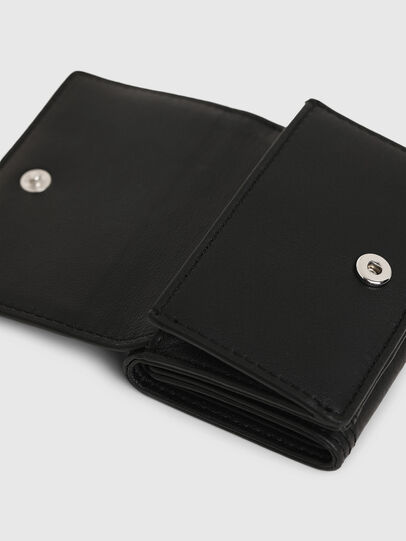Diesel - LORETTINA, Black - Small Wallets - Image 4