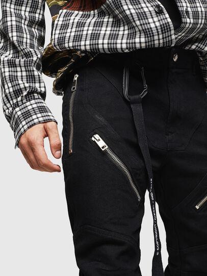 Diesel - P-VON, Black - Pants - Image 3